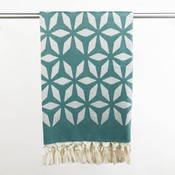 Hammam Towel Defne oceangreen