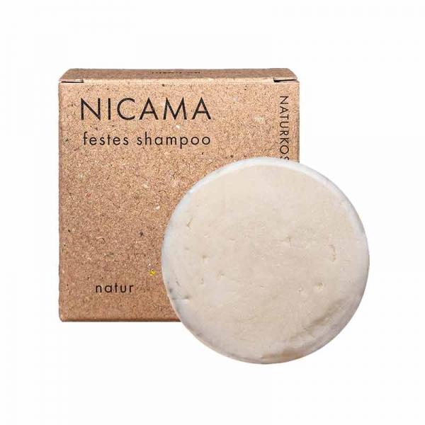 NICAMA Solid Shampoo Natural