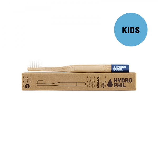 Hydrophil Bamboo Toothbrush for Children soft, blue