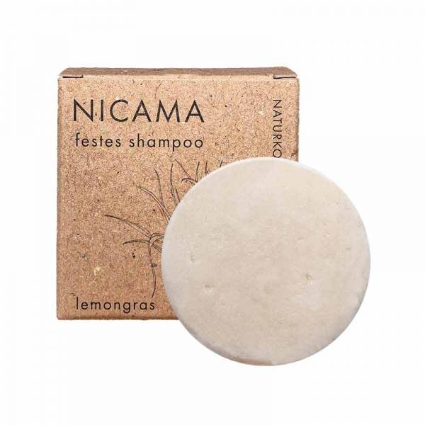 Nicama Solid Shampoo Lemongras