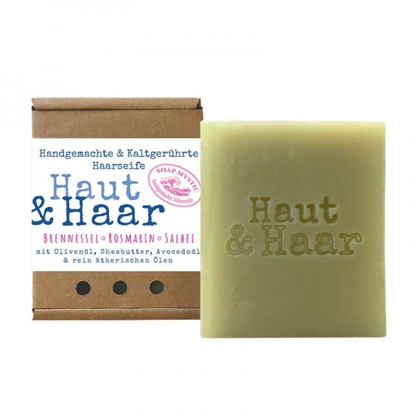 Natural Hair & Body Soap Nettle