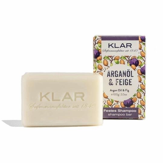 Klar's Festes Shampoo Arganöl & Feige