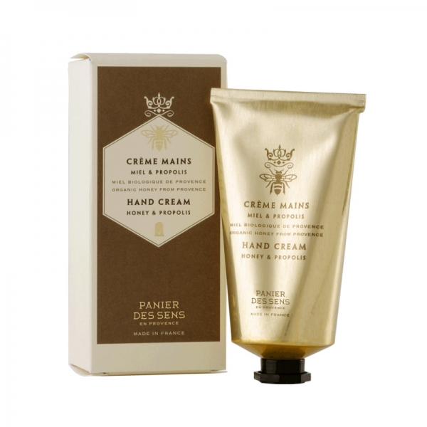 Paniers des Sens Hand Cream with Honey and Propolis 75ml