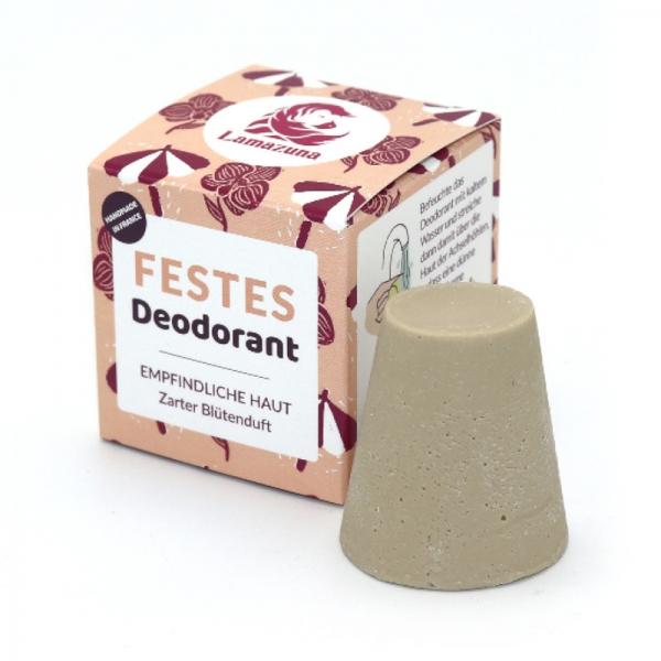 Festes Deodorant Zarter Blütenduft