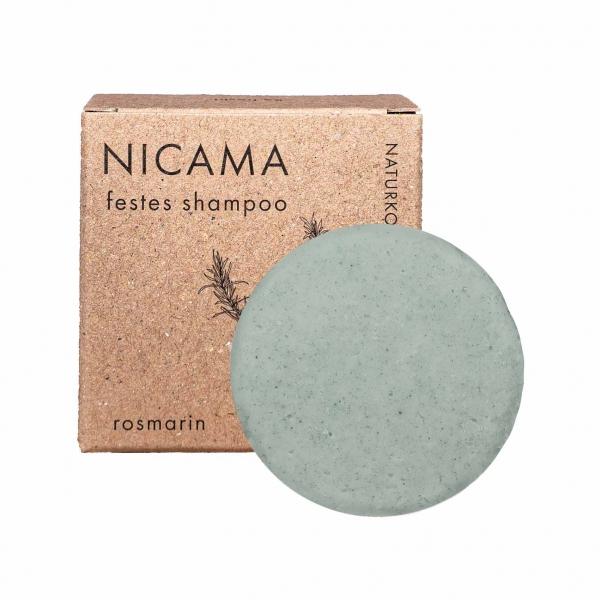 Nicama Festes Shampoo Rosmarin