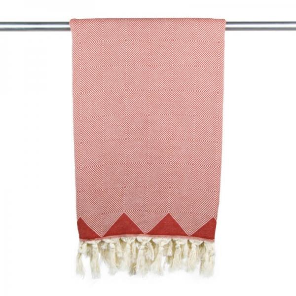 Hammam Towel Kestane indian red