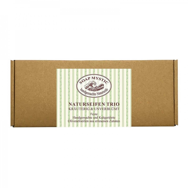 Giftbox Soap Trio Herbal