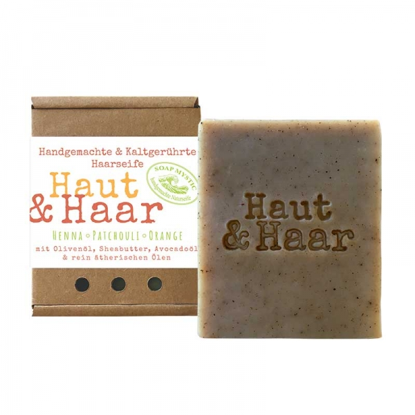 Natural Hair & Body Soap Henna