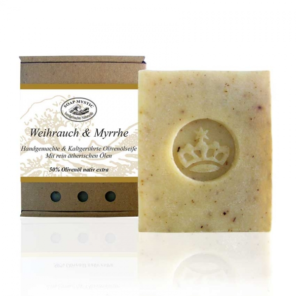 Natural Soap Frankincense & Myrrh