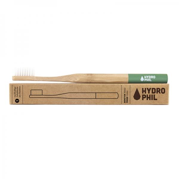 Hydrophil Bamboo Toothbrush medium, green