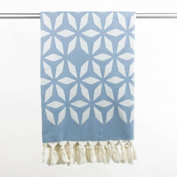 Hammam Towel Defne grey-blue