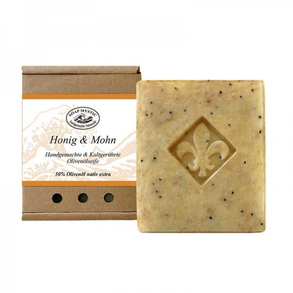 Honey & Poppy Seed Natural Soap
