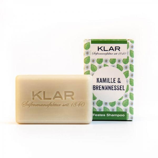 Klar's Festes Shampoo Kamille & Brennnessel