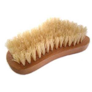 Wooden Nail Brush Foot Shape