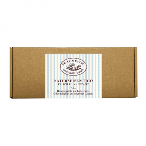 Giftbox Soap Trio Fresh