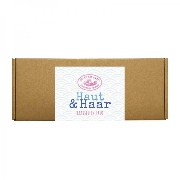 Natural Hair Soap Gift Box