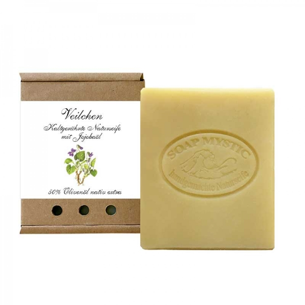 Violet Soap with Jojoba Oil