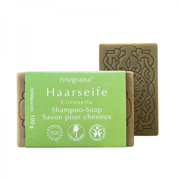 Hair Soap with Essential Citronella Oil