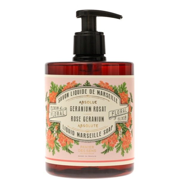Rose Geranium Liquid Marseille Soap Les Absolues 500ml
