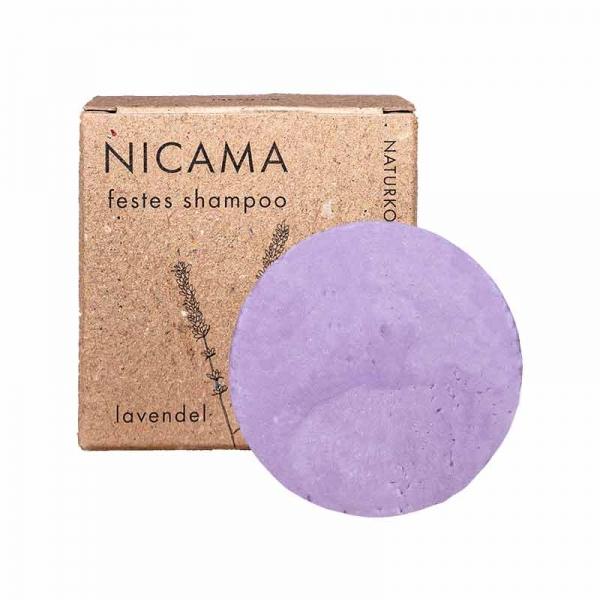 Nicama Solid Shampoo Lavender