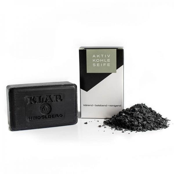 Klar's Activated Charcoal Soap