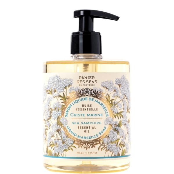 Sea Fennel Liquid Soap from Marseille with Essential Oils 500ml