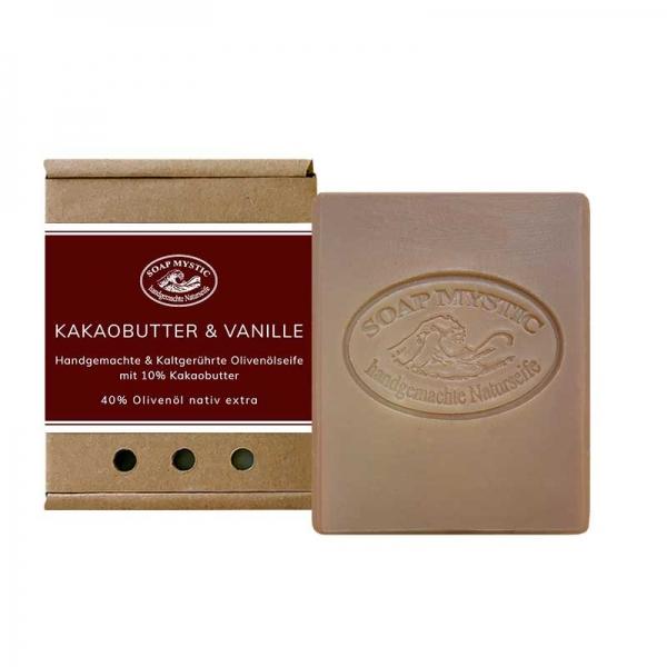 Naturseife Kakaobutter & Vanille