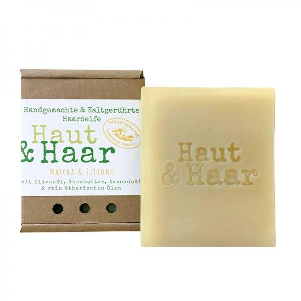 Natural Hair & Body Soap Matcha