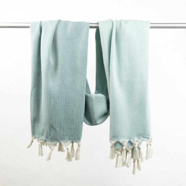 Hammam Towel Manolya jade-oceangreen