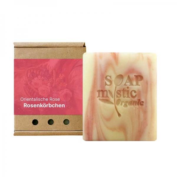 Organic Olive Oil Soap Oriental Rose with Evening Primrose Oil